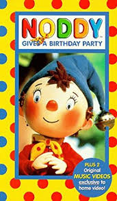 amazon noddy birthday party vhs goldy notay gina