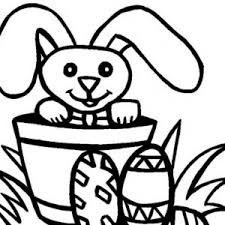 easter bunny decorating easter egg coloring page batch coloring