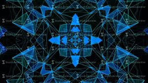 Blue Pattern Background by Blue Neon Technology Pattern Background Hi Tech Lines And