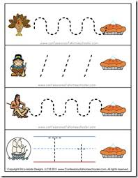 thanksgiving preschool free printables confessions of a homeschooler