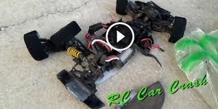behold the real power of rc rc car crashes into a guy at 100 mph