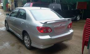 toyota corolla s 2005 for sale toks toyota corolla sport 2005 model for sale autos nigeria