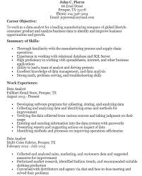 data analyst resume 16 free sle data analyst resumes best resumes 2018