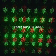 Laser Light Decoration Patterns Five Star Snowflake Remote Red Green Laser Light
