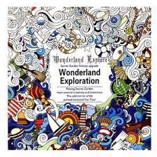 secret garden coloring book chile children graffiti gifts books exploration