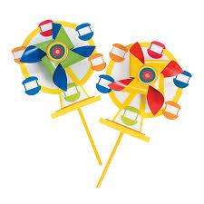 ferris wheel pinwheel craft kit http www orientaltrading com