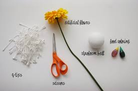 Homemade Flowers Tutorial Q Tip Flowers Homemade Ginger