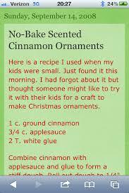 no bake cinnamon ornaments bbs lets play board