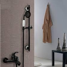 copper shower black bathtub faucet shower set