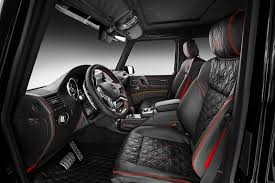 mercedes benz g class interior 2015 brabus gives mercedes benz g500 4x4 more power torque and style
