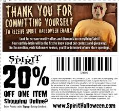 Halloween Costumes Coupons Spirit Halloween Coupons Grab Printable Coupons