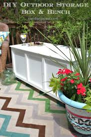 How To Build An Outdoor Patio Diy Outdoor Storage Box Bench Storage Benches Bench And