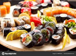 jeu de cuisine sushi cuisine japonaise jeu de sushi photographie ostancoff 140979154
