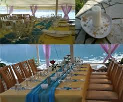 restaurant theme ideas colour theme ideas u2013 blue u0026 yellow seaside theme u2013 lefkas weddings
