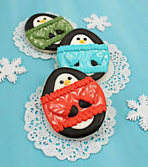19 best penguins images on pinterest decorated cookies