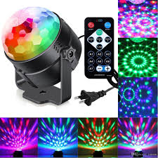 sound activated dj lights sumger 7 modes sound activated party lights with remote control dj