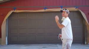 garage doors painted garage doors to look like wood pictures of