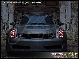 2004 Infiniti G35 Interior 06 07 Infiniti G35 Coupe Led Halo Rings Headlights Bulbs