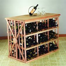 metal wine rack table decorating keep your wine bottles stored in a style with awesome