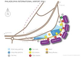 Map Of Miami International Airport by Philadelphia International Airport Lufthansa Travel Guide