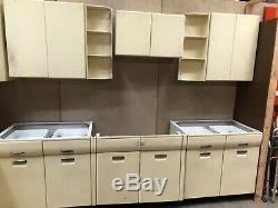 vintage metal kitchen cabinets vintage metal kitchen cabinets set local up