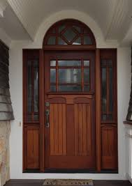 Wood Exterior Door Phirst And Lassing Unique Third Lite Exterior Wood And Glass Doors