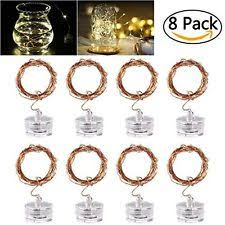 starry string lights led starry string lights 8pcs 6 5foot warm white copper fairy with