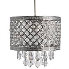 silver pendant light shade silver jewel bling droplet pendant ceiling light shade moroccan