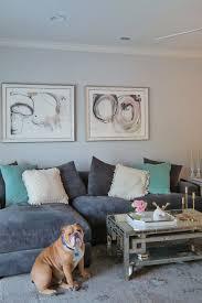 our living room glitter gingham