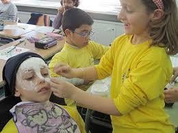 como hacer mascaras en forma de rosa mascaras de yeso manualidades infantiles