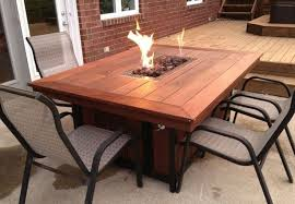 how to build a fire pit table diy propane fire pit with tables how to build one at home