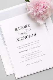 What Goes On Wedding Programs Best 25 Classic Wedding Invitations Ideas On Pinterest Classic