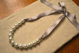 necklace pearls ribbon images 44 ribbon pearl necklace 25 best ideas about ribbon necklace on jpg