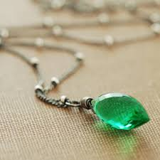 green gem necklace images Sandi pointe virtual library of collections jpg