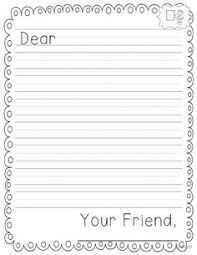 letter writing paper end of year letter writing templates 2nd grade letter writing