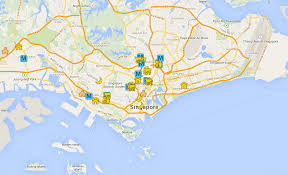 Smu Map Singapore Student Housing Map Xchangehousing