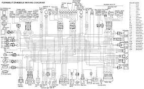 yamaha fzr400 fzr400suc wiring diagram evan fell motorcycle