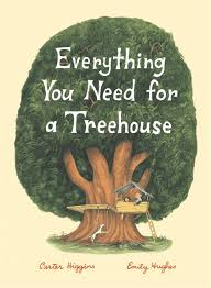 book cover premiere everything you need for a treehouse all the