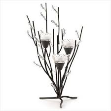 tree branch candle holder wholesale black white botanical tree branch candle holder