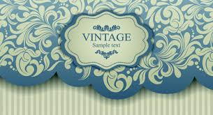elegant invitations vintage style design vector 03 u2013 over millions