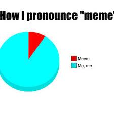 How Do U Pronounce Meme - how i pronounce meme by electricalboy1029 meme center