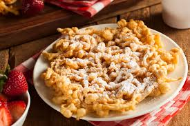 calories in funnel cake with powdered sugar livestrong com