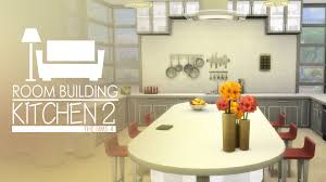 Cool Kitchen the sims 4 room build kitchen 2 cool kitchen stuff youtube