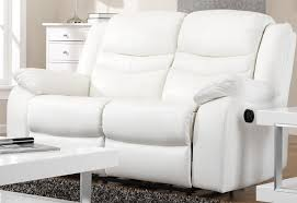 White Leather Recliner Sofa Brilliant White Leather Recliner Sofa Set Shop Sloan Electric