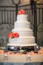 coral wedding cakes 25 amazing all white wedding cakes crazyforus