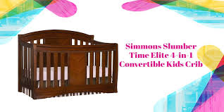 Simmons Convertible Crib Simmons Elite Crib 4 In 1 Convertible Espresso Truffle Review