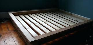 Diy Queen Size Platform Bed - queen size platform bed frame plans queen size platform bed plans