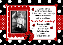 Birthday Invitation Cards For Kids First Birthday Best 25 Ladybug Invitations Ideas On Pinterest Cards Diy Diy
