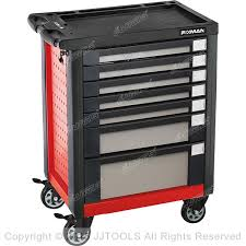 7 drawers rolling mobile tool box cabinet storage f5 series