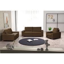 ensemble canap et fauteuil ensemble de 2 canapés fauteuil coffee marron achat vente